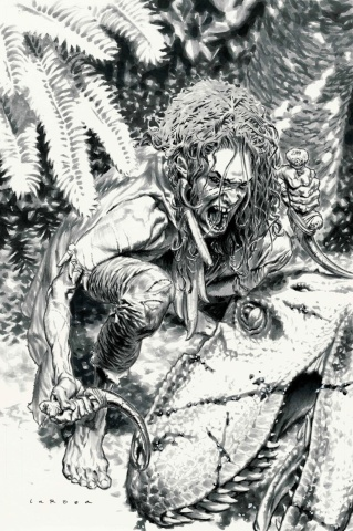 Savage #2 (50 Copy B&W Sketch Larosa Cover)