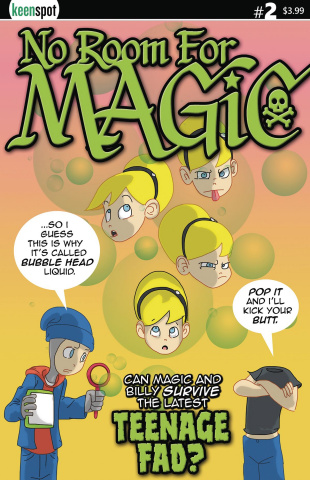No Room for Magic #2 (Ramos Cover)