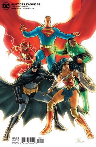 Justice League #52 (Nick Derington Cover)