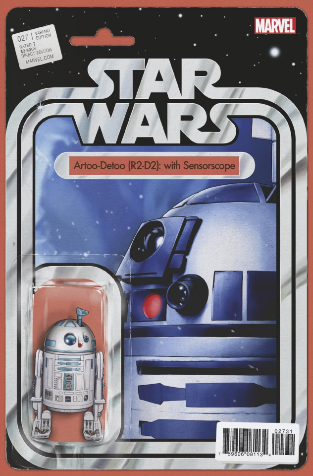 Star Wars #27 (Christopher Action Figure Cover)