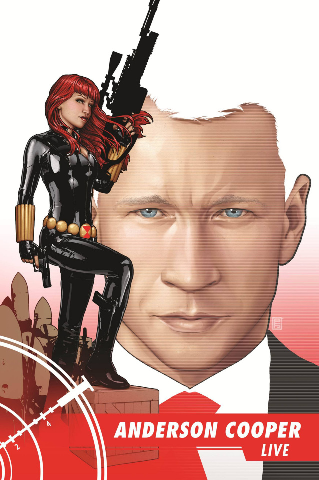 Black Widow #12 (Christopher Cover)