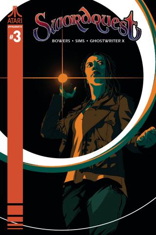 Swordquest #3 (Montes Cover)