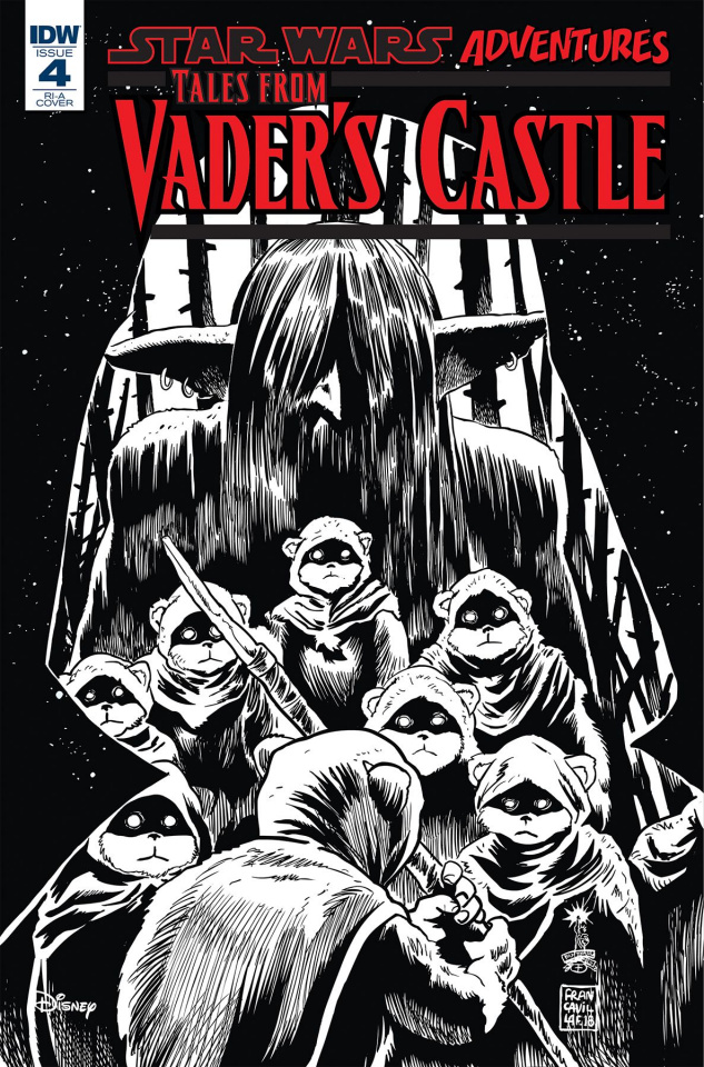 Star Wars: Tales From Vader's Castle #4 (10 Copy Cover)