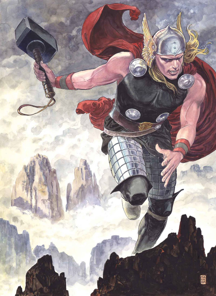 Thor: God of Thunder #25 (Manara Cover)
