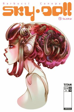 Sky Doll: Sudra #2 (Barbucci Cover)