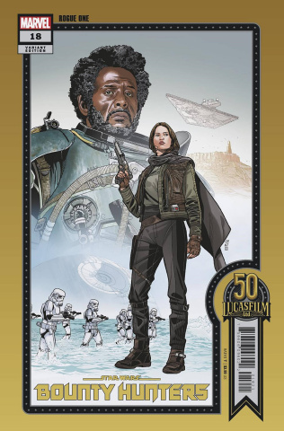 Star Wars: Bounty Hunters #18 (Sprouse Lucasfilm 50th Anniversary Cover)