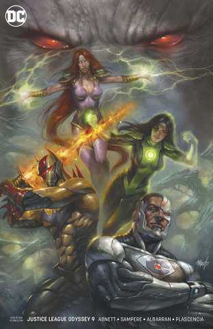 Justice League: Odyssey #9 (Variant Cover)