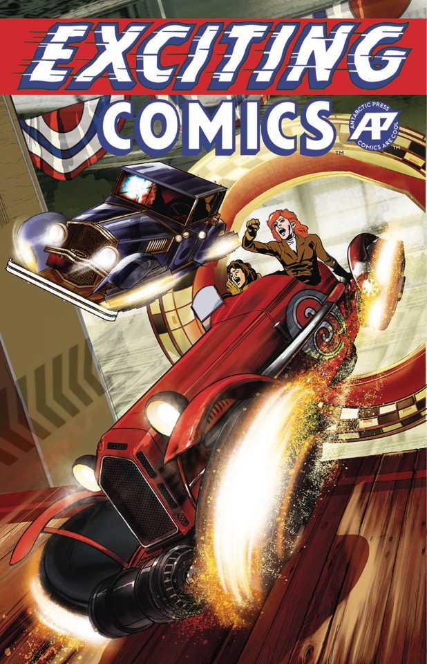 Exciting Comics #1 (Speedway Cover)