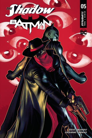 The Shadow / Batman #5 (Peterson Cover)