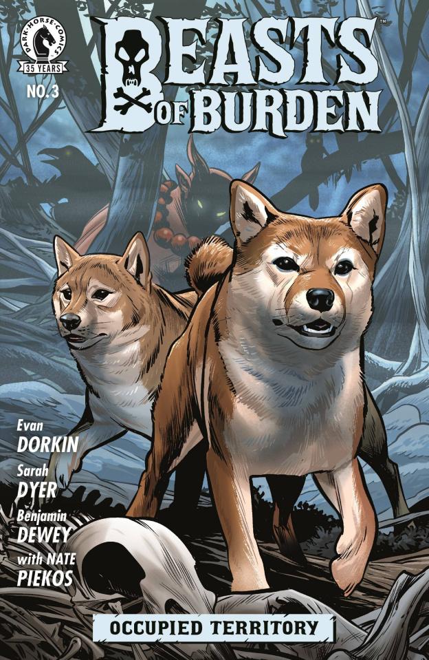 Beasts of Burden: Occupied Territory #3 (Dewey Cover)