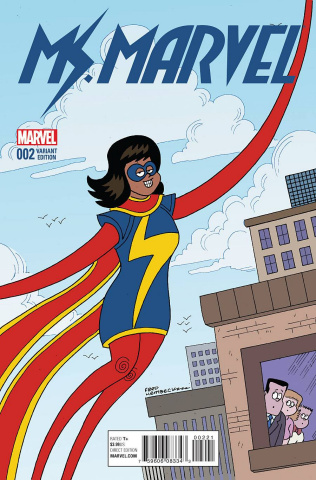 Ms. Marvel #2 (Hembeck Cover)