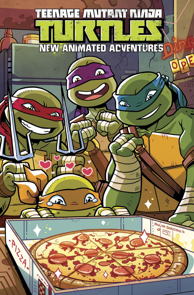 Teenage Mutant Ninja Turtles: New Animated Adventures Vol. 2 (Omnibus)