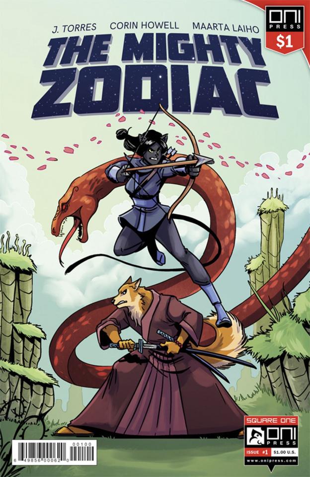The Mighty Zodiac #1 (One Dollar Edition)