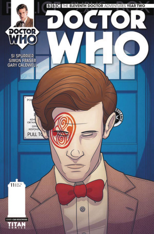 Doctor Who: New Adventures with the Eleventh Doctor, Year Two #11 (Boultwood Cover)