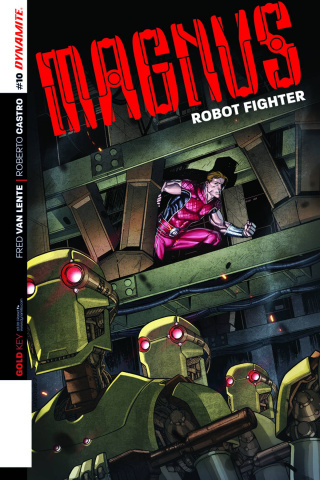 Magnus, Robot Fighter #10 (Subscription Cover)