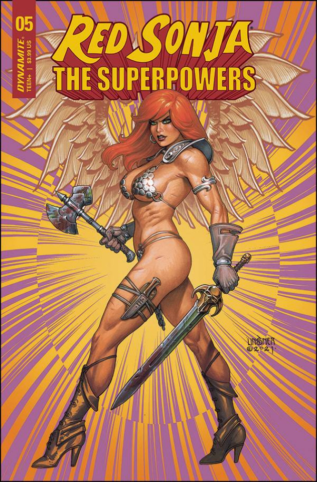 Red Sonja: The Superpowers #5 (Linsner Cover)