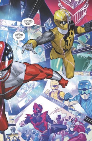 Mighty Morphin' Power Rangers #42 (Mora Cover)