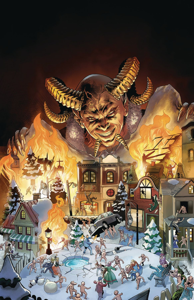 Grimm Fairy Tales 2019 Holiday Special (Coccolo Cover)