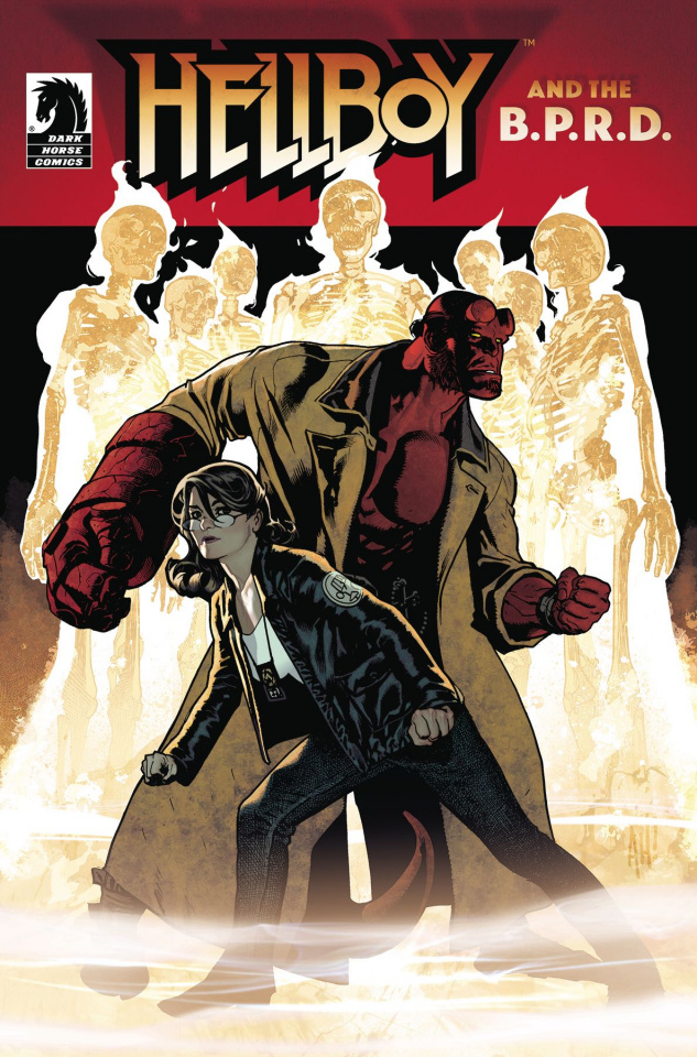 Hellboy and the B.P.R.D.: The Seven Wives Club (Hughes Cover)
