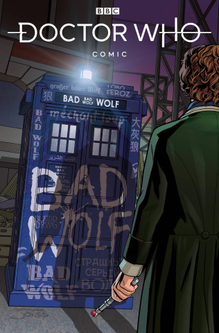 Doctor Who: Empire of the Wolf #1 (Jones Cover)