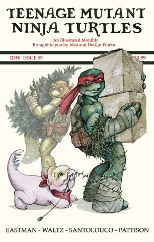 Teenage Mutant Ninja Turtles #89 (Eastman Cover)