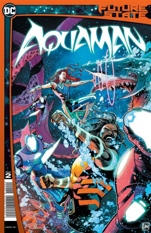 Future State: Aquaman #2 (Daniel Sampere Cover)