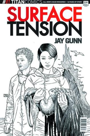 Surface Tension #1 (10 Copy Gunn B/W Cover)
