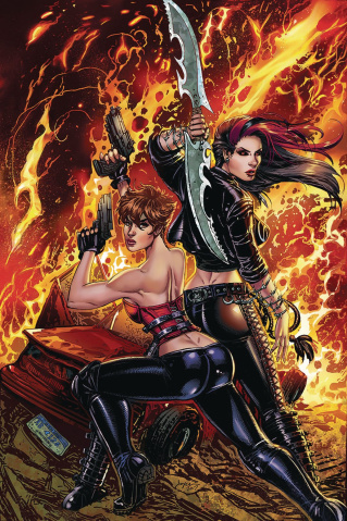 Hellchild: Inferno #0 (Chin Cover)