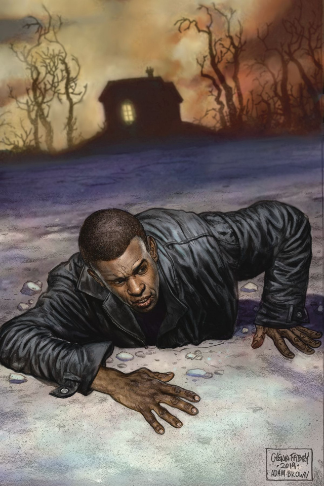 American Gods: The Moment of the Storm #8 (Fabry Cover)