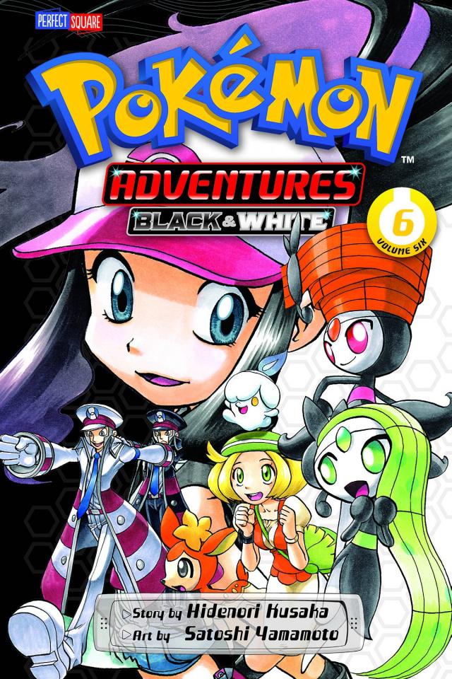 Pokémon Adventures: Black & White Vol. 6