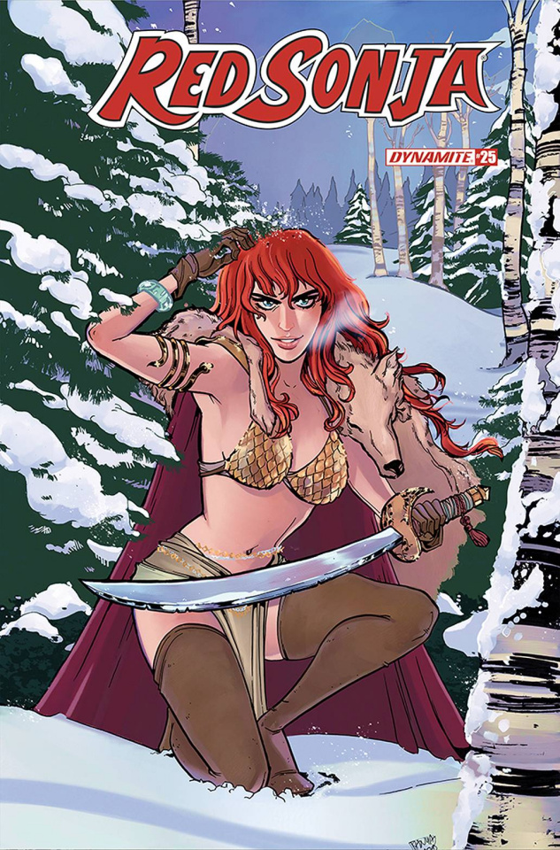 Red Sonja #25 (Anwar Cover)