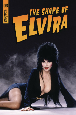 The Shape of Elvira #3 (Photo Cover)