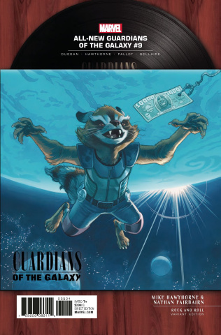 All-New Guardians of the Galaxy #9 (Rock 'N Roll Cover)