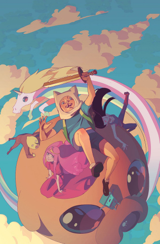 Adventure Time Comics #16 (Subscription Chang Cover)