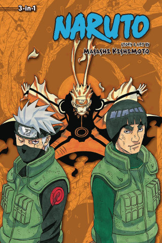 Naruto Vol. 21 (3-in-1 Edition)