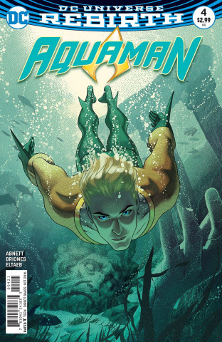 Aquaman #4 (Variant Cover)