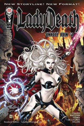 Lady Death: Unholy Ruin #1