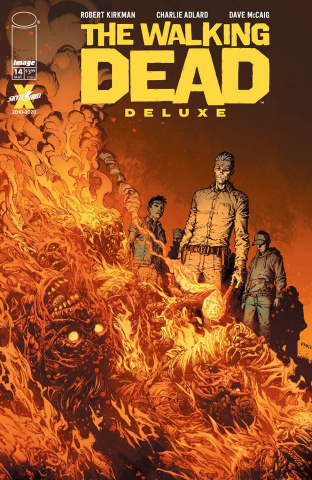 The Walking Dead Deluxe #14 (Finch & McCaig Cover)