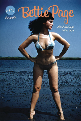 Bettie Page #5 (Photo Cover)