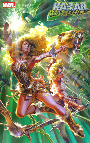 Ka-Zar: Lord of the Savage Land #2 (Massafera Cover)