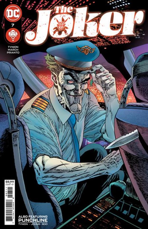 The Joker #7 (Guillem March Cover)