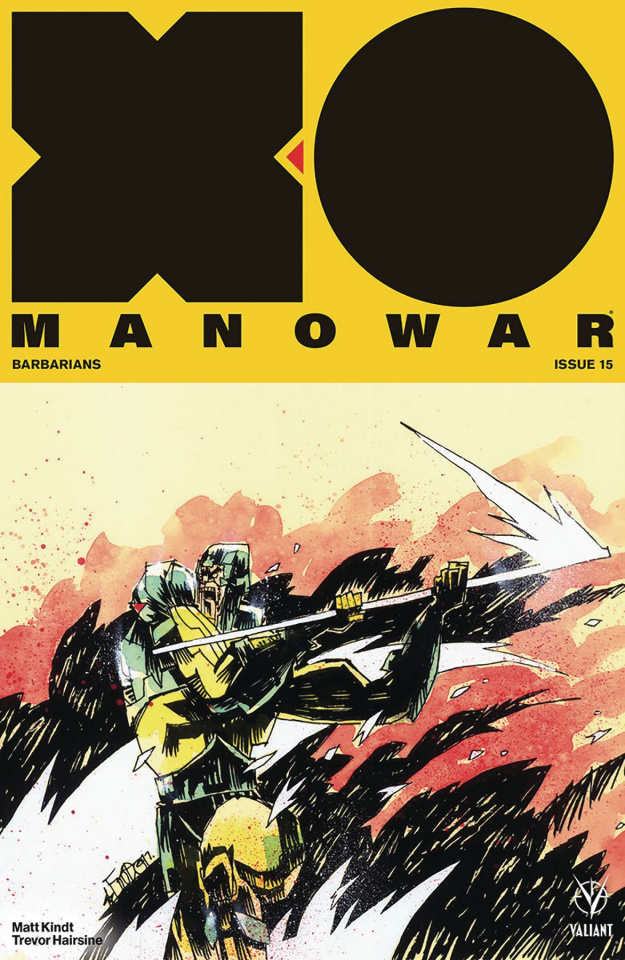 X-O Manowar #15 (Mahfood Cover)