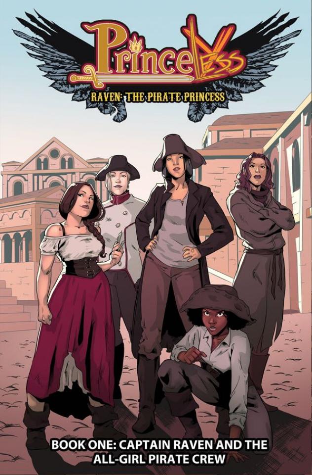 Princeless: Raven, The Pirate Princess Vol. 1: All-Girl Pirate Crew