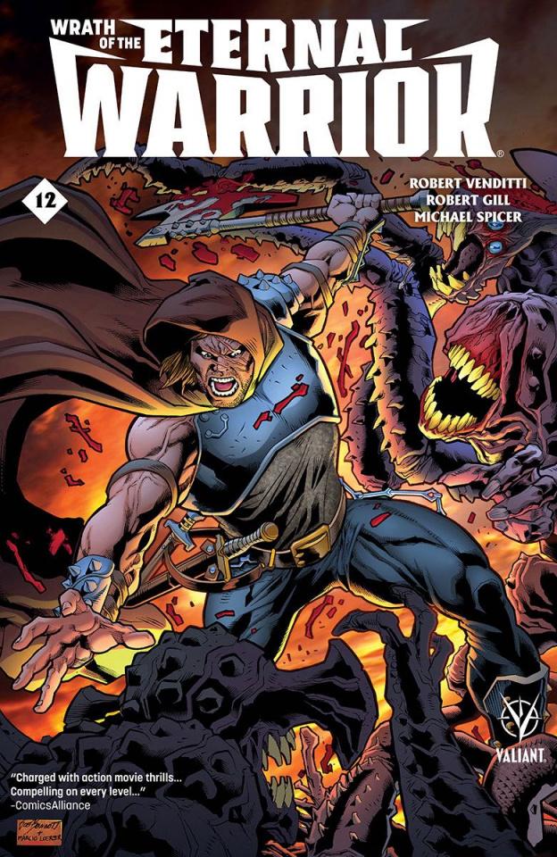 Wrath of the Eternal Warrior #12 (Bennett Cover)
