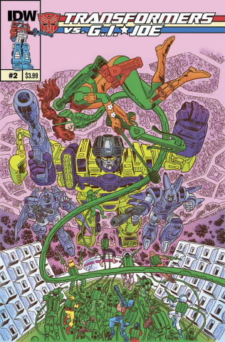 Transformers vs. G.I. Joe #2 (10 Copy Cover)