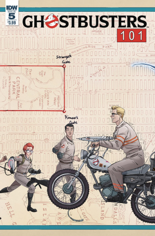 Ghostbusters 101 #5 (Schoening Cover)