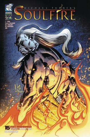 Soulfire #4 (Ladjouze Cover)