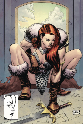 Red Sonja #15 (15 Copy Gorham Homage Virgin Cover)