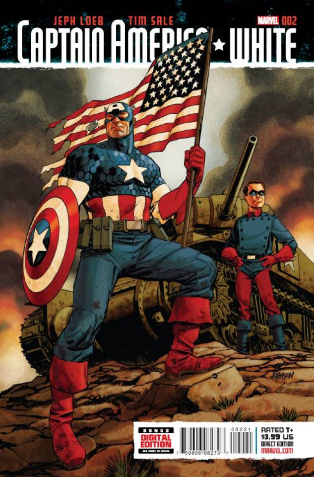 Captain America: White #2 (Johnson Cover)