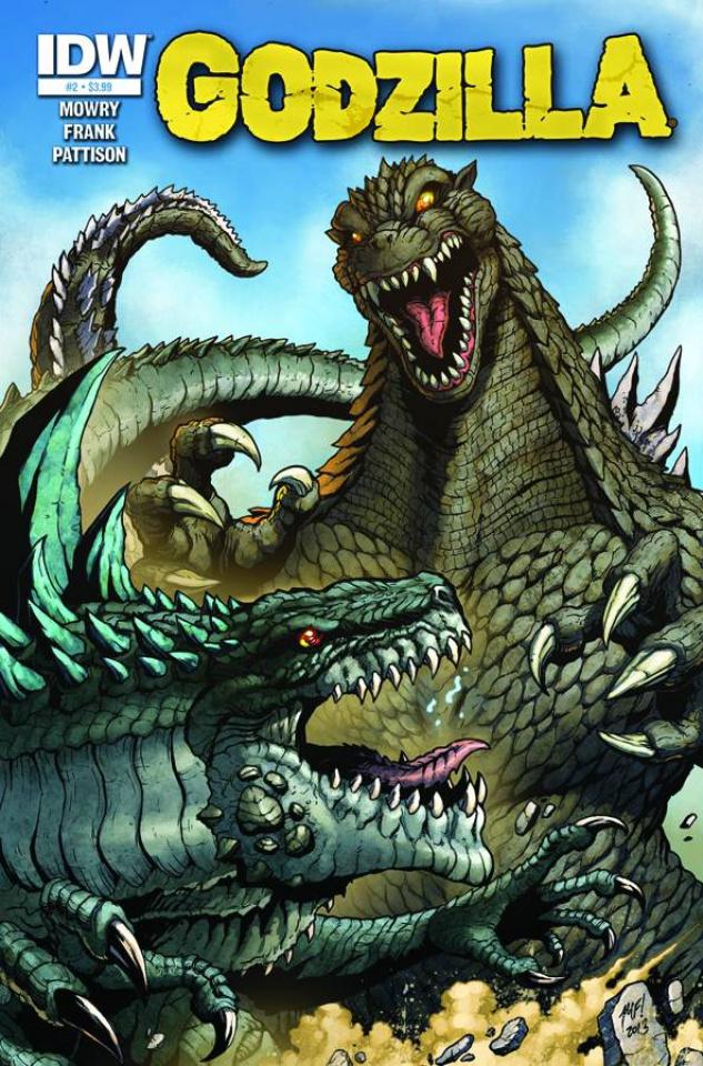 Godzilla: Rulers of Earth #2 (10 Copy Cover)